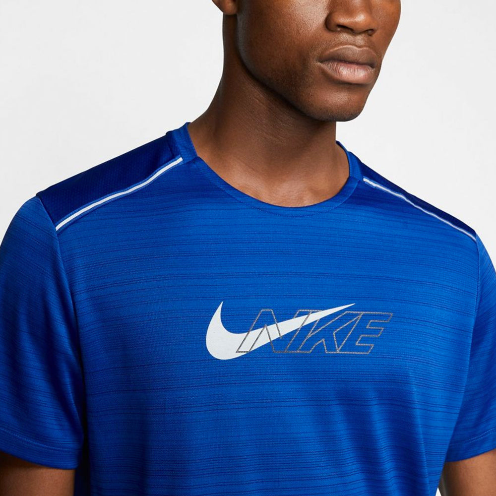 Men's Nike Dri-Fit Miler Flash Short Sleeve Top