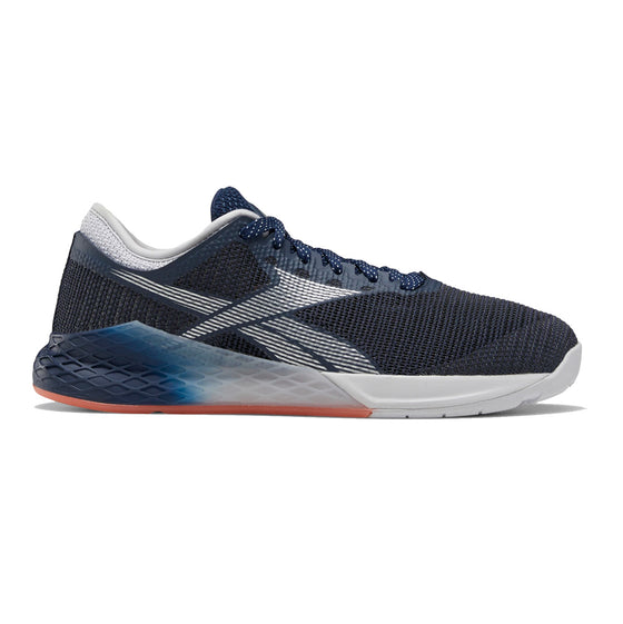 Women's Reebok CrossFit Nano 9 Fade, women, reebok, crossfit, nano, 9, fade, gym, workout, training, shoe, new color, style, grey, navy