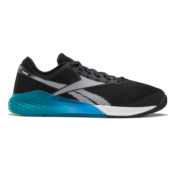 Men's Reebok CrossFit Nano 9 Fade, men, reebok, crossfit, nano, 9, fade, gym, workout, training, shoe, color, style, black, blue, teal