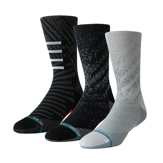 Men's Stance RUN Crew Socks 3 Pack