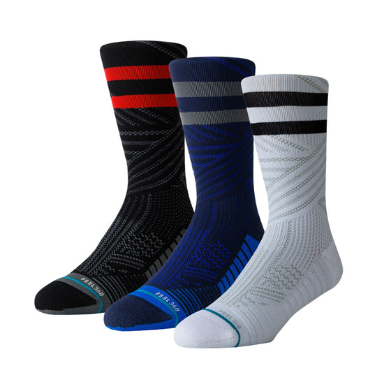 Men's Stance TRAINING Uncommon Crew Socks 3 Pack