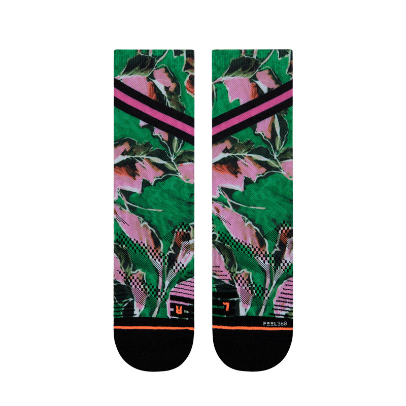 Women's Stance TRAINING Varsity Floral Crew Socks