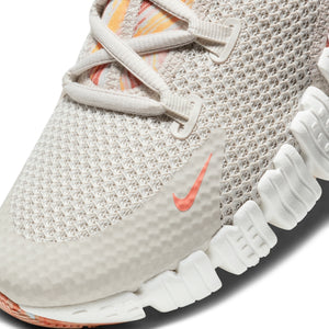 Women's Nike Free Metcon 4, women, nike, free, metcon, 4, gym, workout, training, crossfit, shoe, new, style, color, off the grid, desert sand, crimson, white, copper