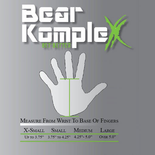 Bear KompleX 3 Hole Hand Grips - Grey