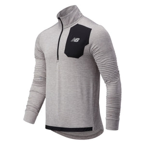 Load image into Gallery viewer, Men's New Balance Impact Run Grid Back Half Zip
