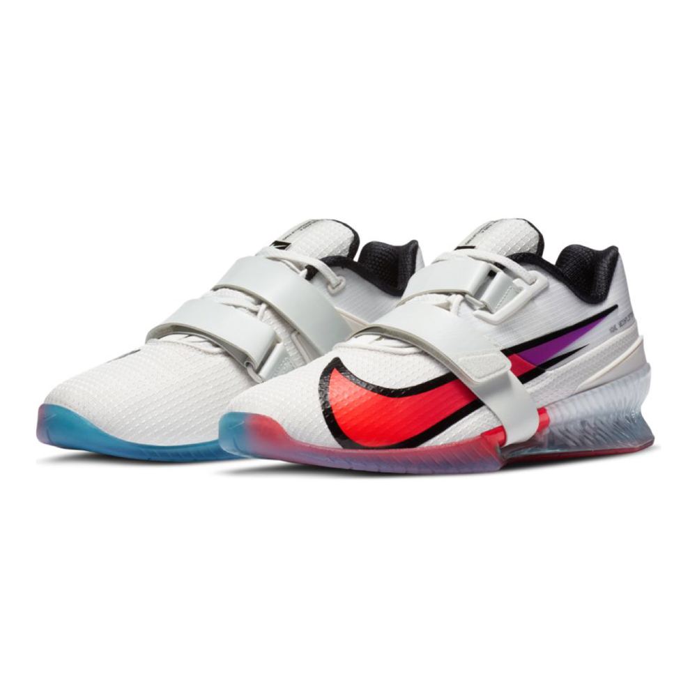 Nike Romaleos 4 SE, nike romaleos 4, crossfit, weightlifting, shoe, nike, romaleos, 4, special, limited, edition, new, color, white, purple, pink, red, blue, pale ivory, hyper violet, crimson