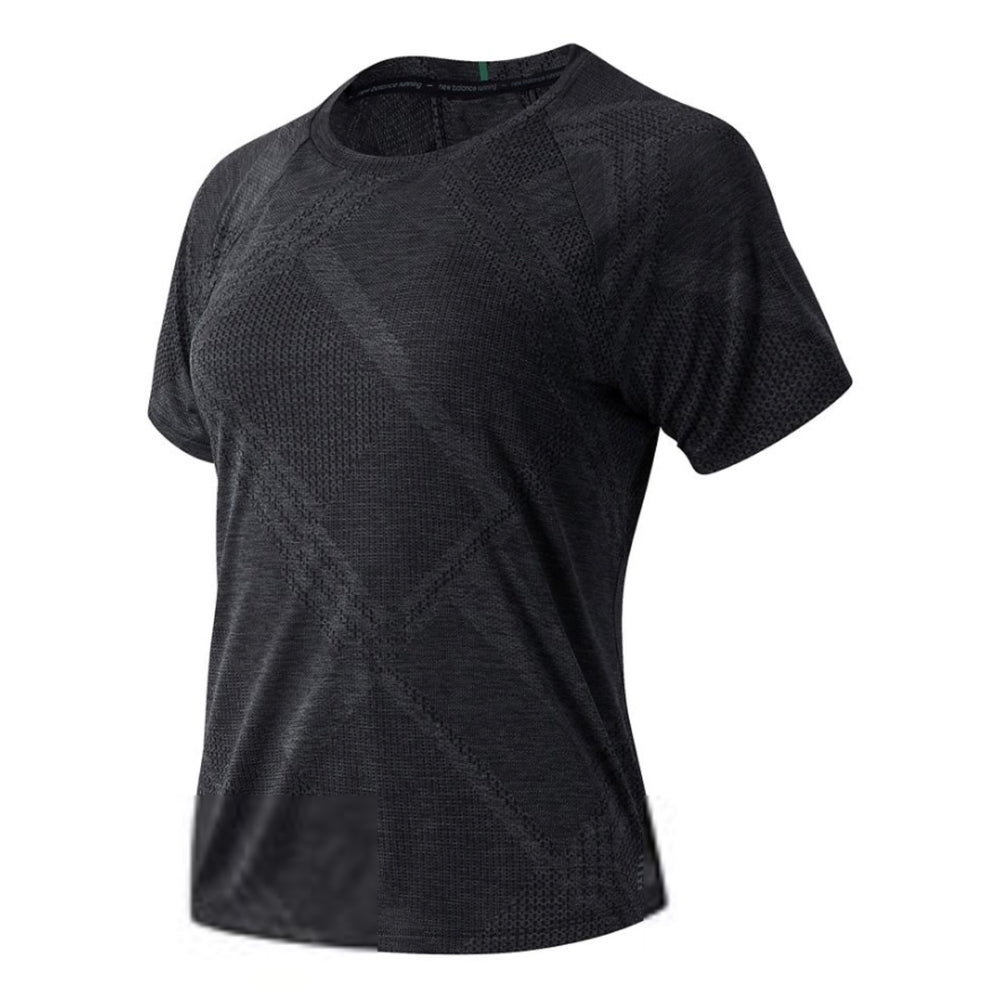 Load image into Gallery viewer, Women's New Balance Q Speed Fuel Jacquard Short Sleeve
