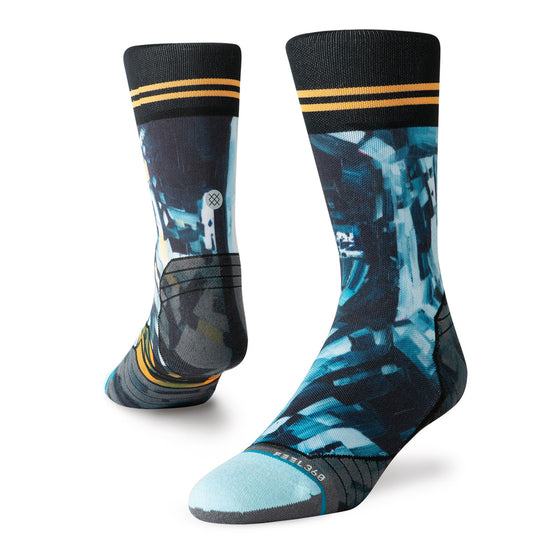 Men's Stance RUN Kagan Moon Man Crew Socks