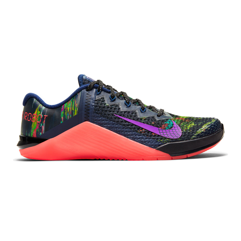 Women's Nike Metcon 6 AMP, AMP, women, nike, metcon, 6, crossfit, gym, workout, training, shoe, color, style, special. limited, edition, blue, crimson, purple