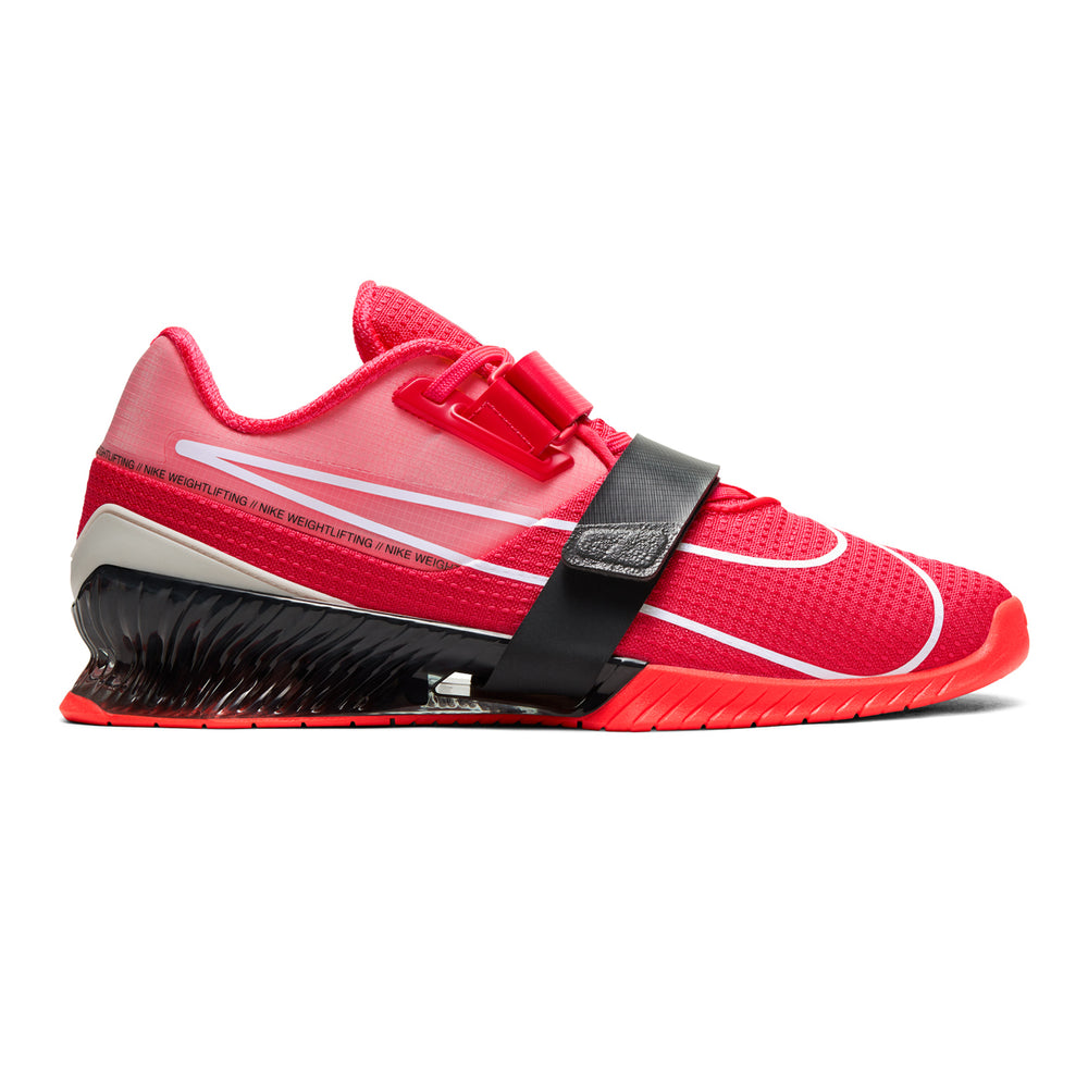 Nike Romaleos 4, nike, romaleos, 4, weightlifting, crossfit, gym, shoe, color, new, red, laser, orange, black, white, grey