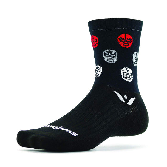 Swiftwick Vision Five Luchador Crew