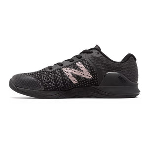 Women's New Balance Minimus Prevail, women, new, balance, minimus, previal, crossfit, training, workout, gym, shoe, new, color, style, black, teal, metallic