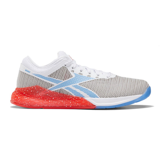 Women's Reebok CrossFit Nano 9, women, reebok, crossfit, nano, 9, gym, workout, training, shoe, new, color, style, red, white, blue, usa, america, country, pride