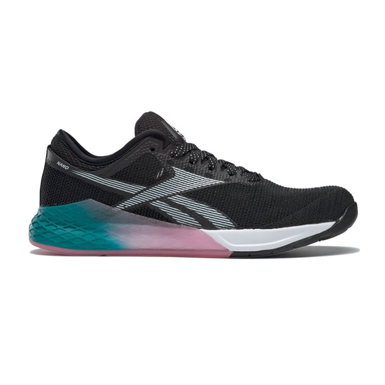 Women's Reebok CrossFit Nano 9,  women, reebok, crossfit, nano, 9, shoe, wodapalooza, beach, season, miami, color, style, special, release, edition, black, pink, blue, white, fade