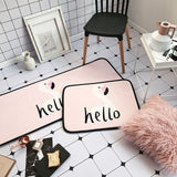 Cartoon Pink Unicorn Flamingos Rug