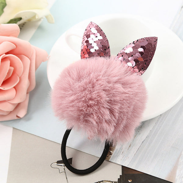 Fur Ball Hair Accessories