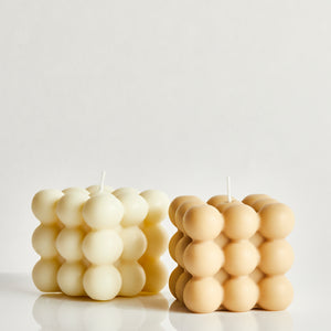 Nudes Set Of Two Scented Bubble Candles