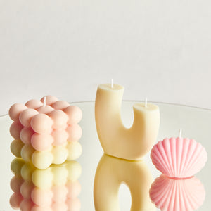 Pick n Mix Pink Scented Bubble Candle