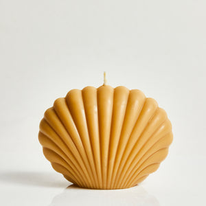Ocean Large Oat Scented Shell Candle