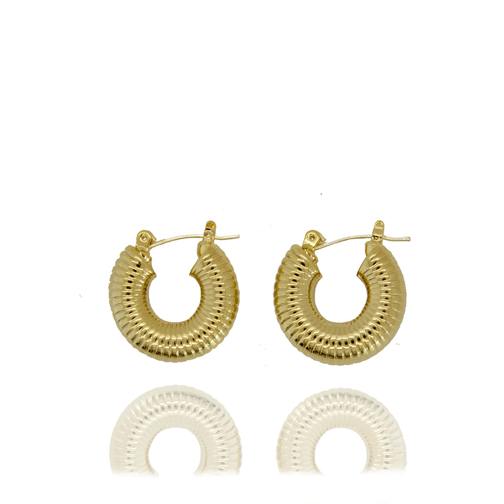 Coast Ribbed Hoop Earrings