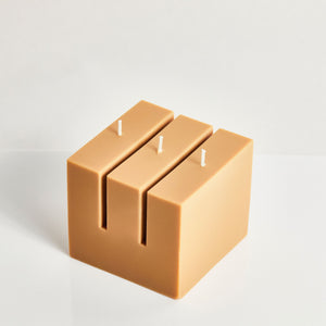 Abe Oat Building Block Scented Candle
