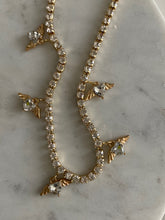 Load image into Gallery viewer, Angel Gold Crystal Tennis Choker