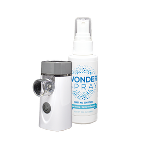 Wonder Spray Nebulizer & 2oz First-Aid Solution Combo Pack