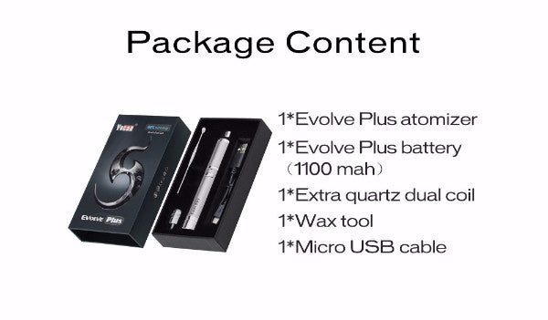 Yocan Evolve Plus Package