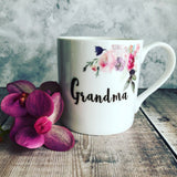 It Takes Someone Special to be a ...... Female Relative Floral China Mug