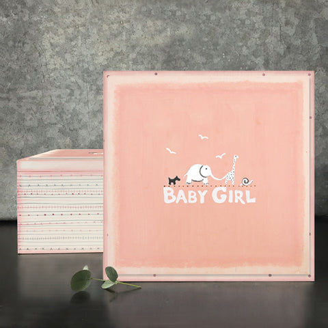 East of India Baby Girl Keepsake Box