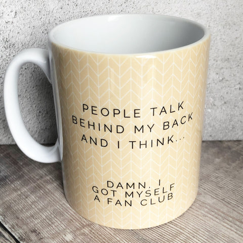 Geometric People Talk.... Mug