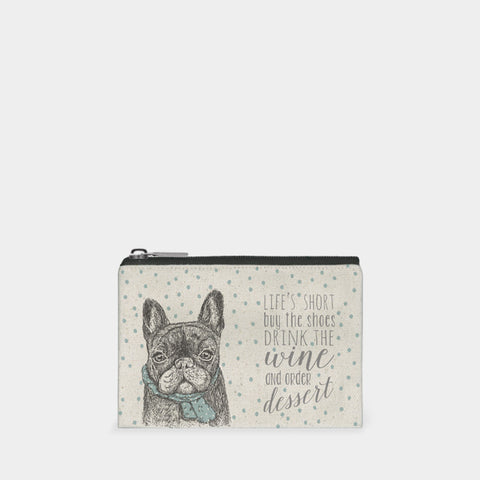 East of India French Bulldog Purse
