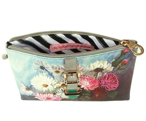 House of Disaster Framed Make Up Bag