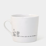 East of India A Brew will see you through Mug