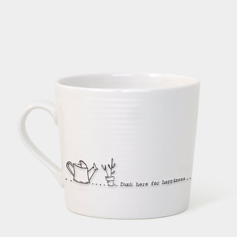 East of India Dunk Here for Happiness Mug