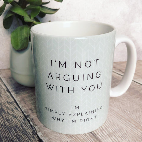 Geometric I'm not arguing with you Mug