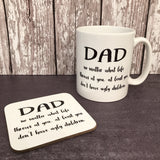 Dad Ugly Kids Mug
