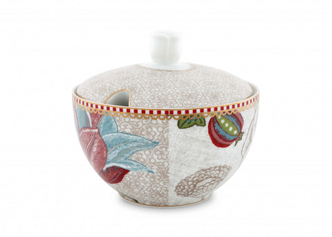 Pip Studio Spring To Life Off White Sugar Bowl