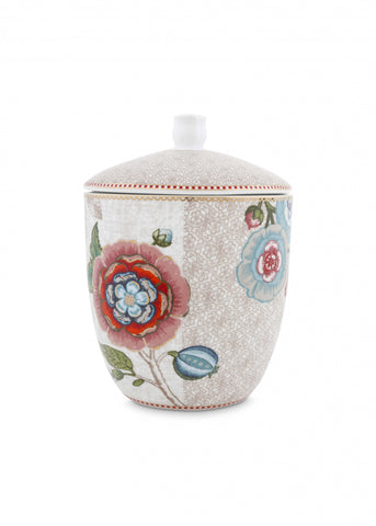 Pip Studio Spring To Life Off White Storage Jar
