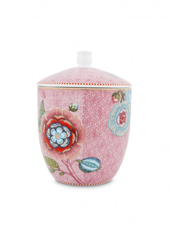Pip Studio Spring To Life Pink Storage Jar