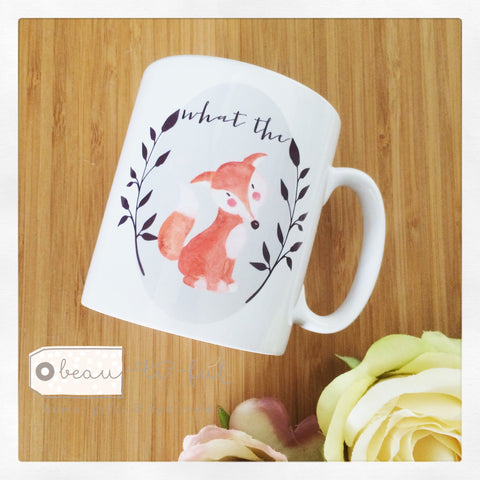 What the Fox Ceramic Mug