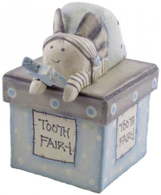 East of India Blue Tooth Fairy Box