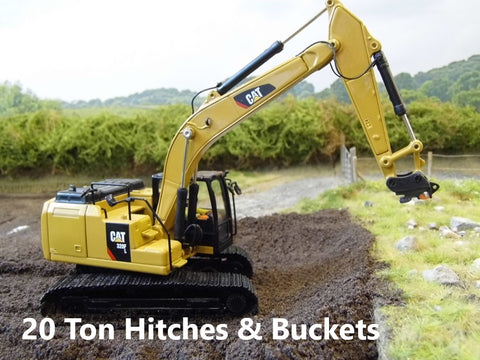 20 Ton Hitches And Buckets