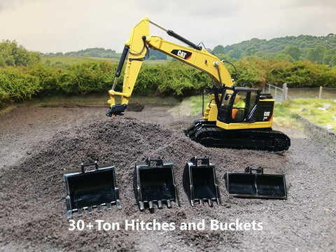 30+ Ton Hitches & Buckets