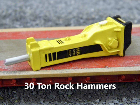 30 Ton Rock Hammers