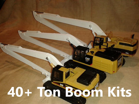 1:50 scale 40+Ton Long Reach Boom Kits