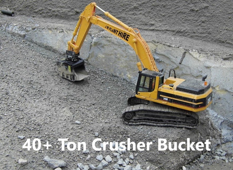 1:50 Scale 40+ Ton Crusher Bucket