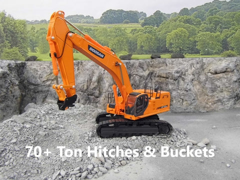 70+ Ton Hitches & Buckets