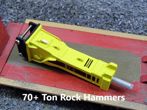 70+ Ton Rock Hammers