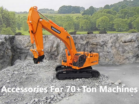 Accessories for 70+ Ton 1:50 Scale Excavators